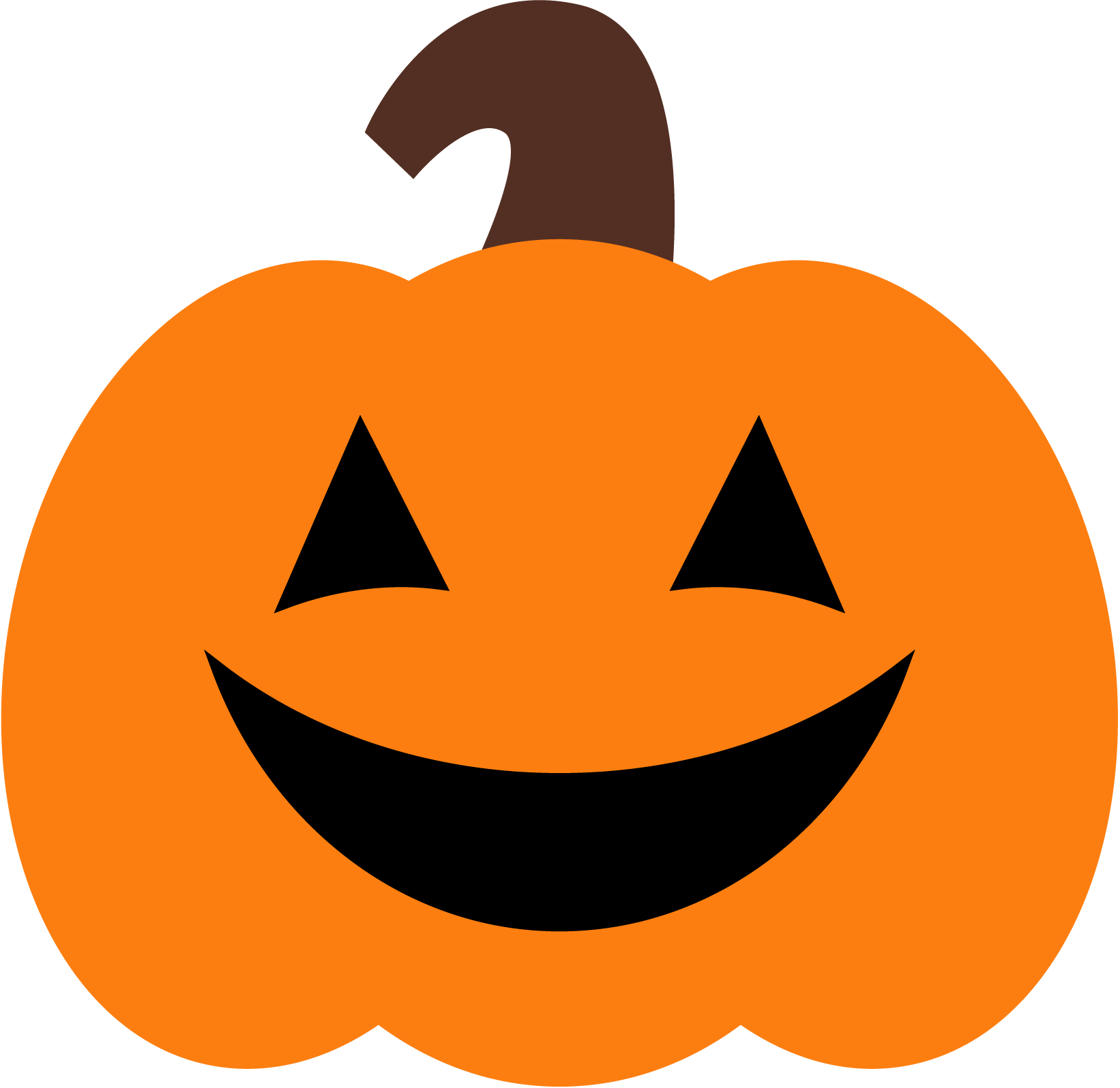Pumpkin pie Jack-o-lantern Clip art - Happy Pumpkin ... (1642 x 1596 Pixel)