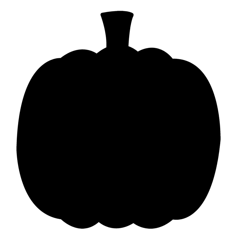 Vector graphics Clip art Silhouette Pumpkin Illustration ... (830 x 816 Pixel)