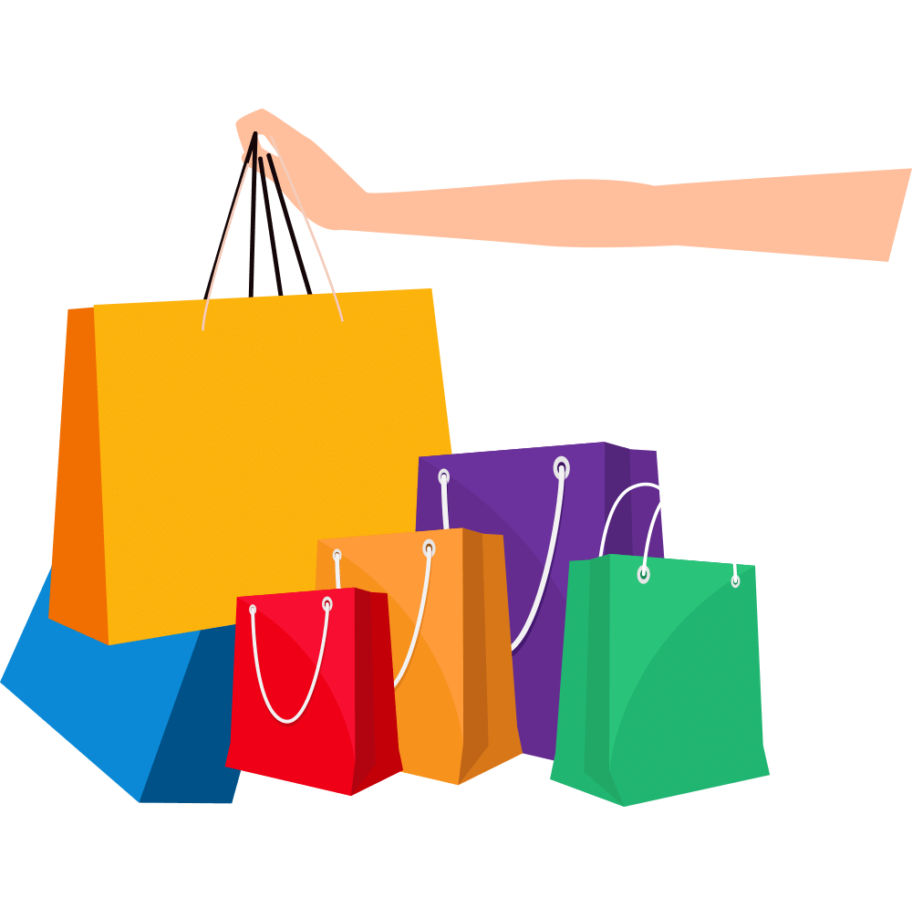 Online Shopping Shopping Bag Vector Cartoon Shopping Bags Png Download 1000 1007 Free Transparent Shopping Png Download Clip Art Library