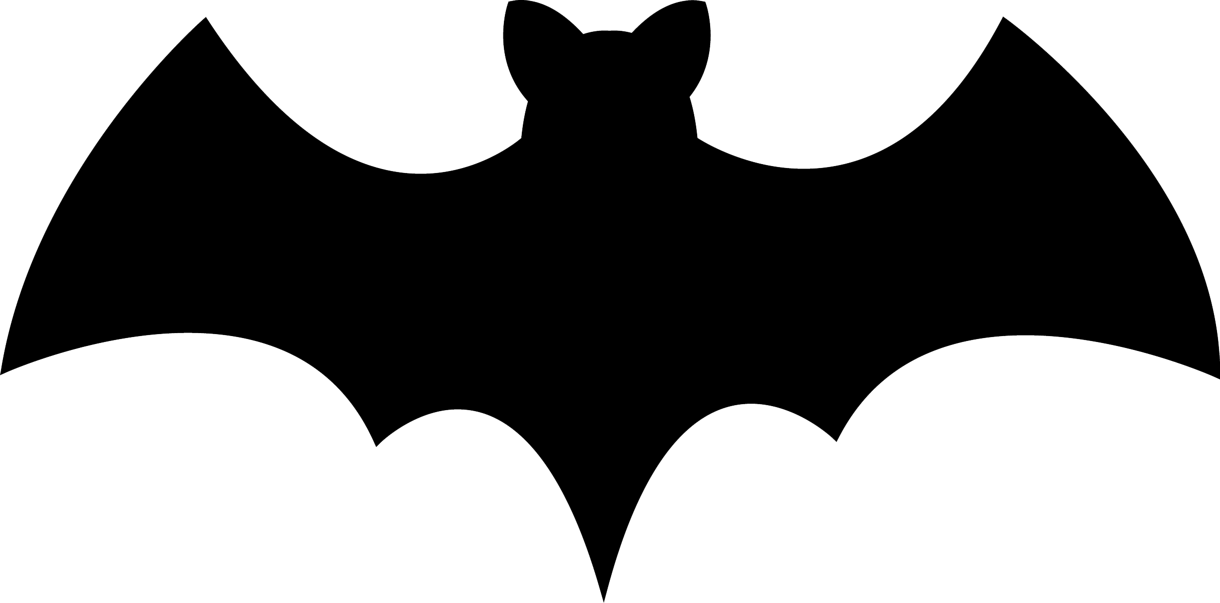 Bat Halloween Silhouette Clip Art