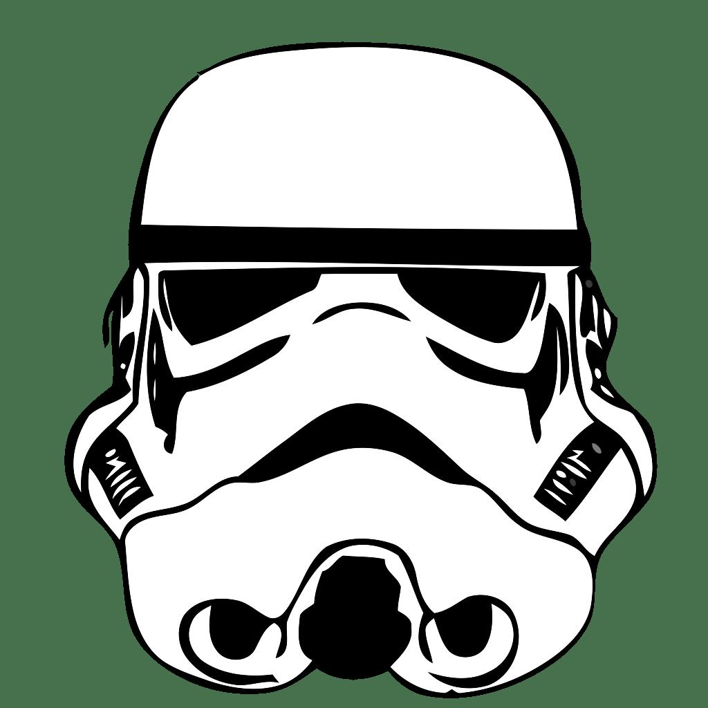 Stormtrooper Drawing Star Wars Stencil Clip Art