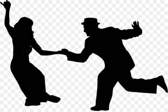 Free Swing Dancer Silhouette, Download Free Clip Art, Free ...