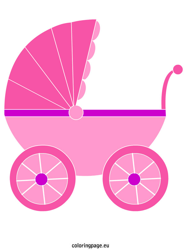 Free Purple Pink Clip Buggy Art Green Baby