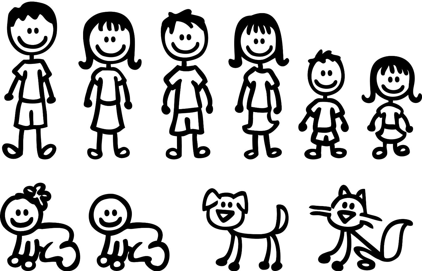 Free Stick Family Cliparts Download Free Clip Art Free