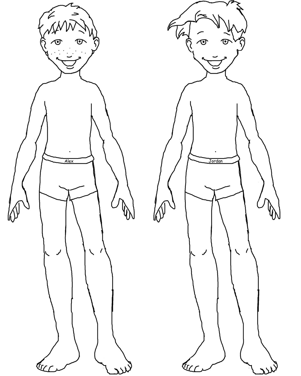 Free Cliparts Doll Body Download Free Clip Art Free Clip