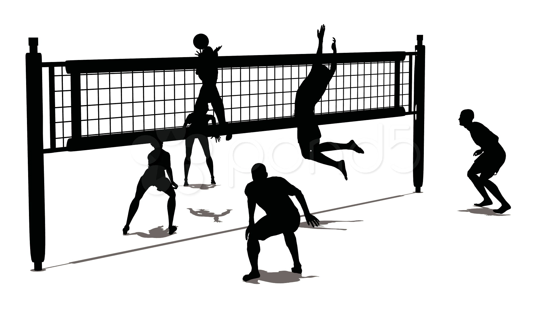 Free Beach Volleyball Cliparts Download Free Clip Art