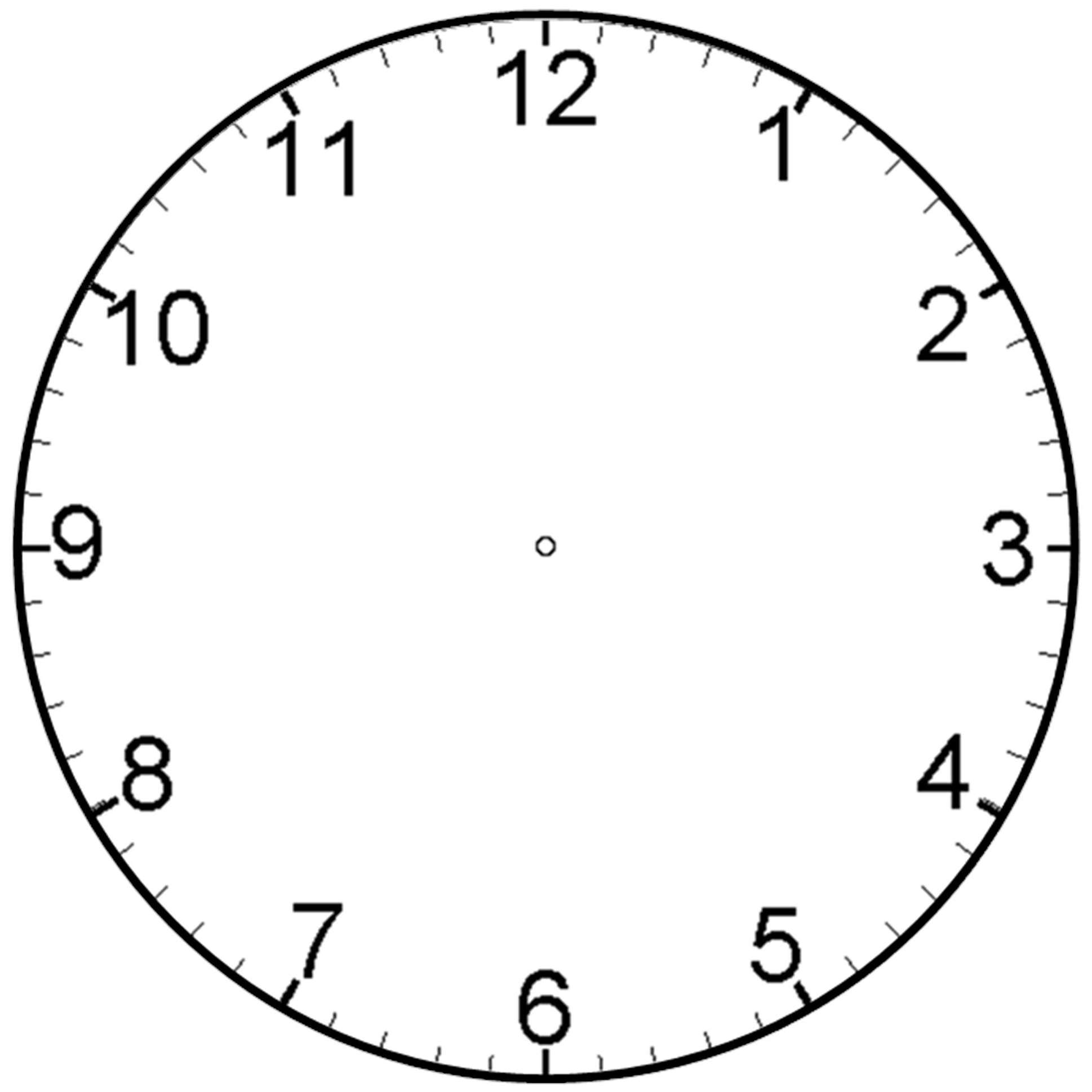 Free Blank Clock Cliparts Download Free Clip Art Free