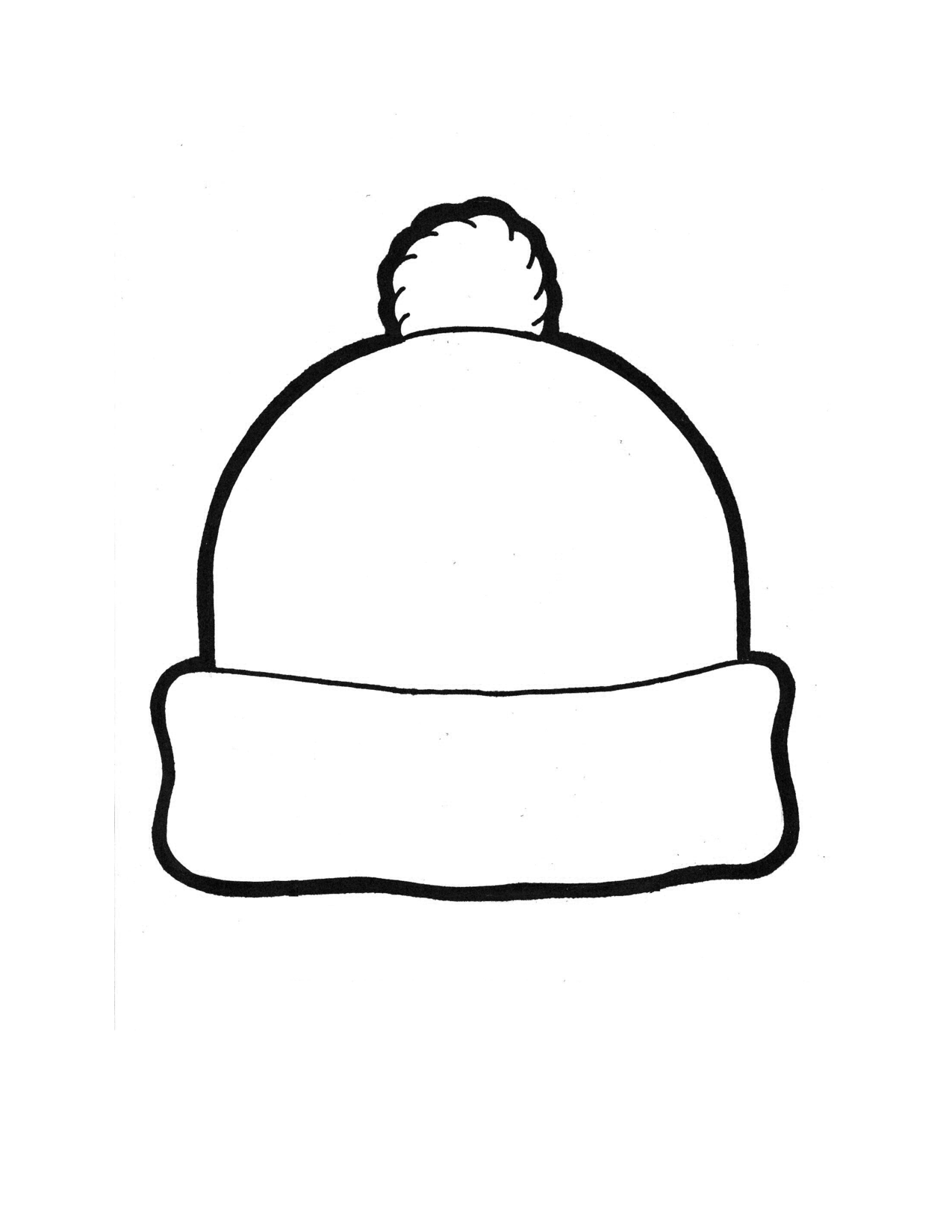 Free Hat Outline Cliparts Download Free Clip Art Free