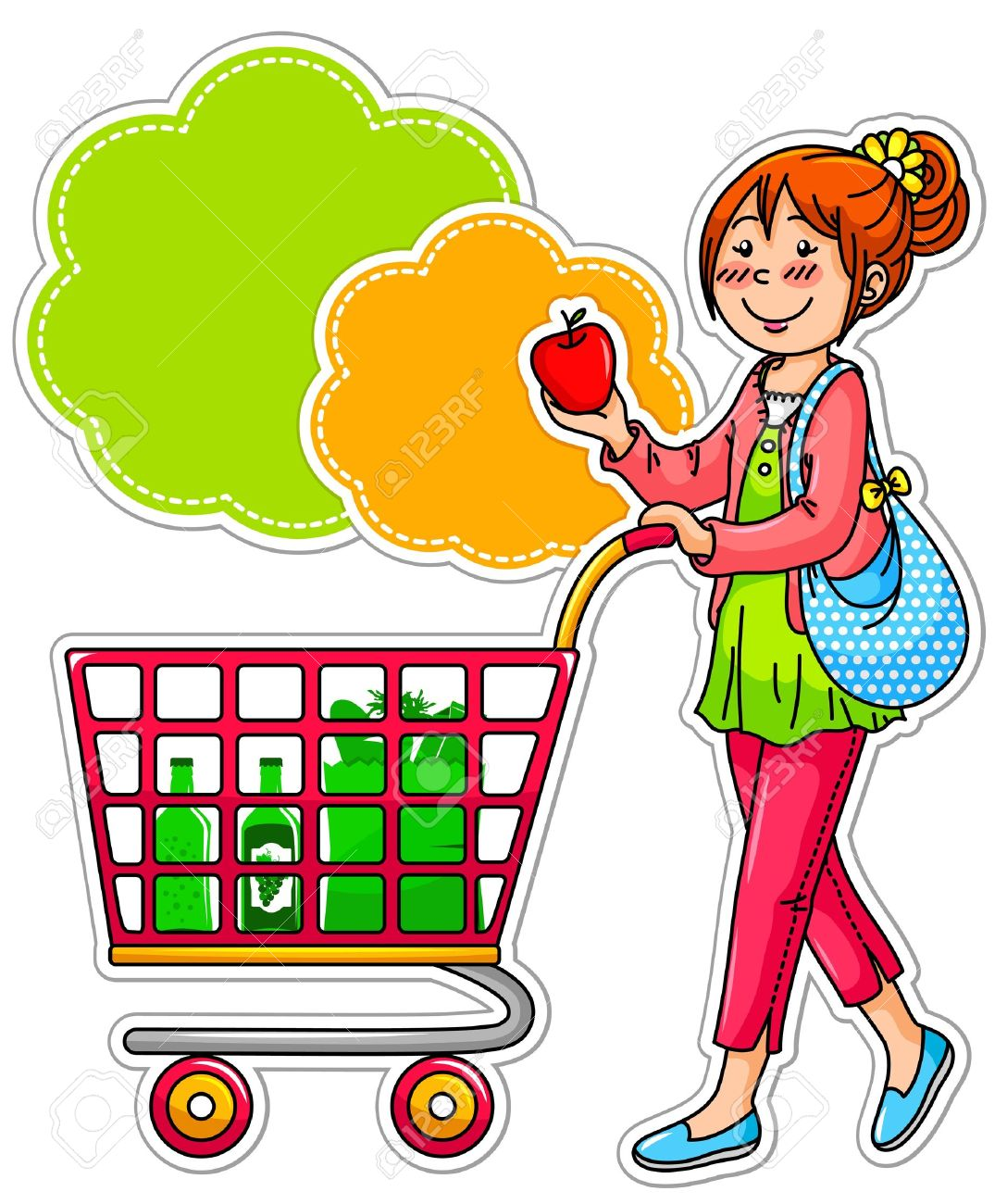 Grocery Shop Clipart