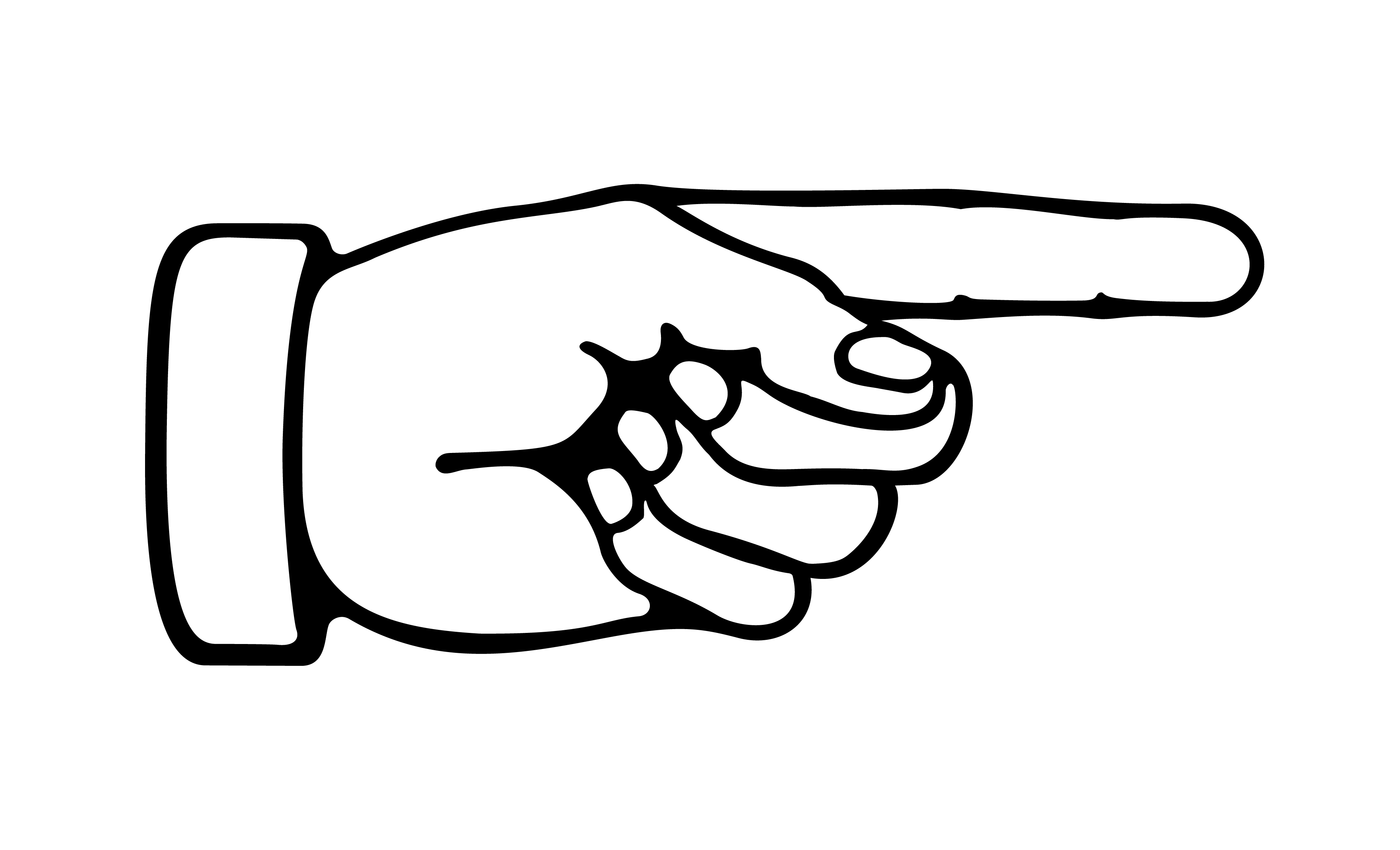 Art Clip Pointing Hand U