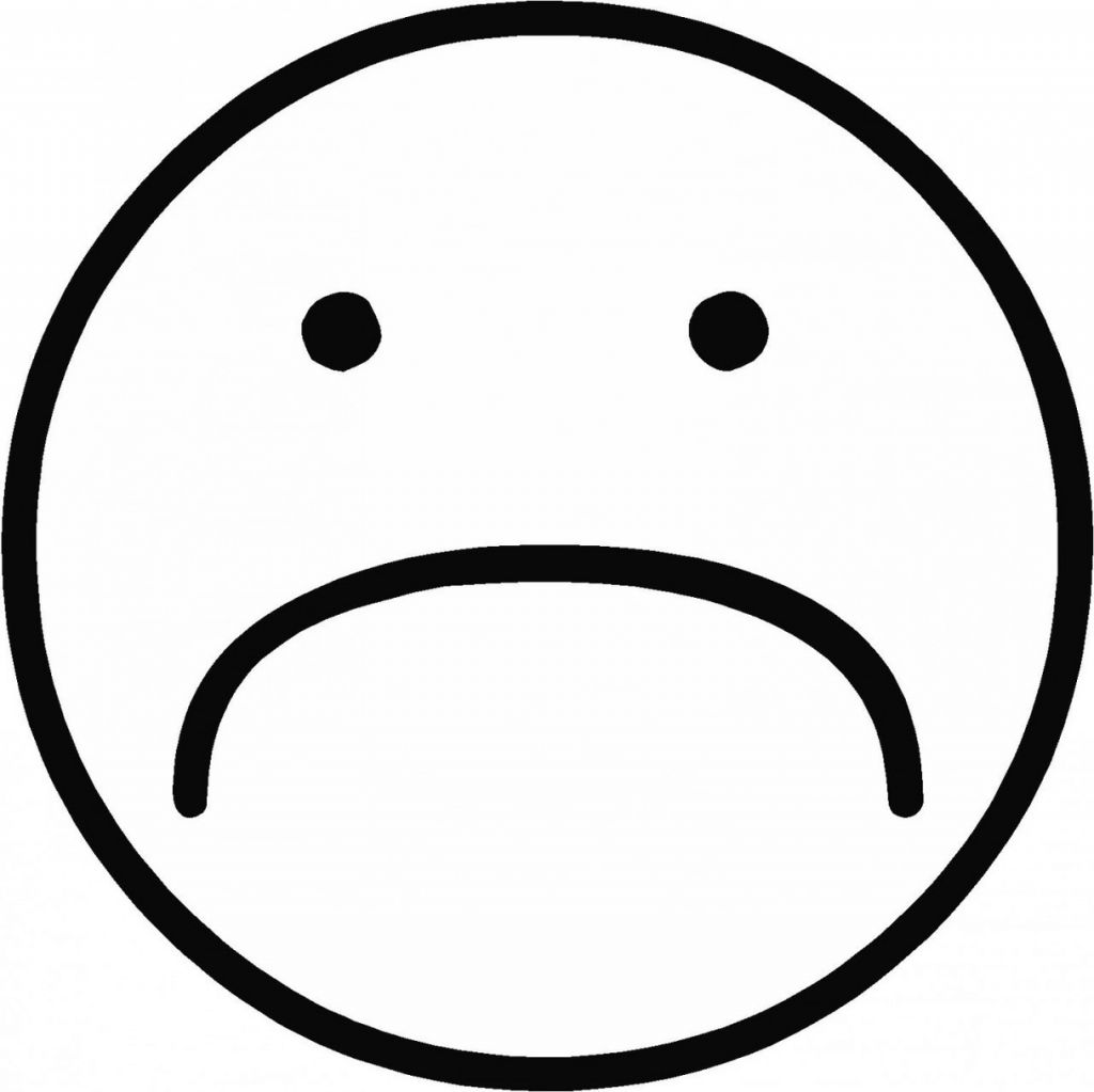 Happy Sad Face Clipart