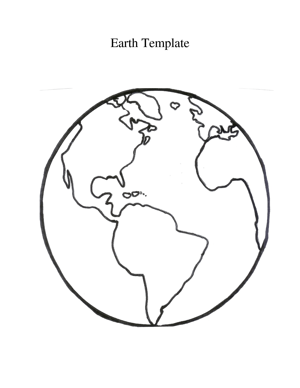 Free Globe Outline Cliparts Download Free Clip Art Free