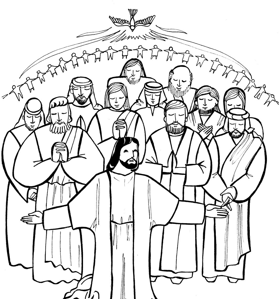 Catholic Saints Clipart