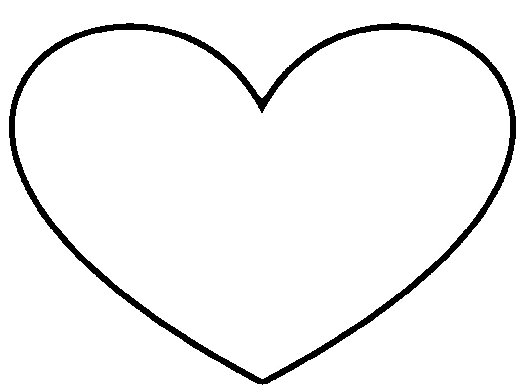 Free White Heart Cliparts, Download Free White Heart ... (1064 x 796 Pixel)