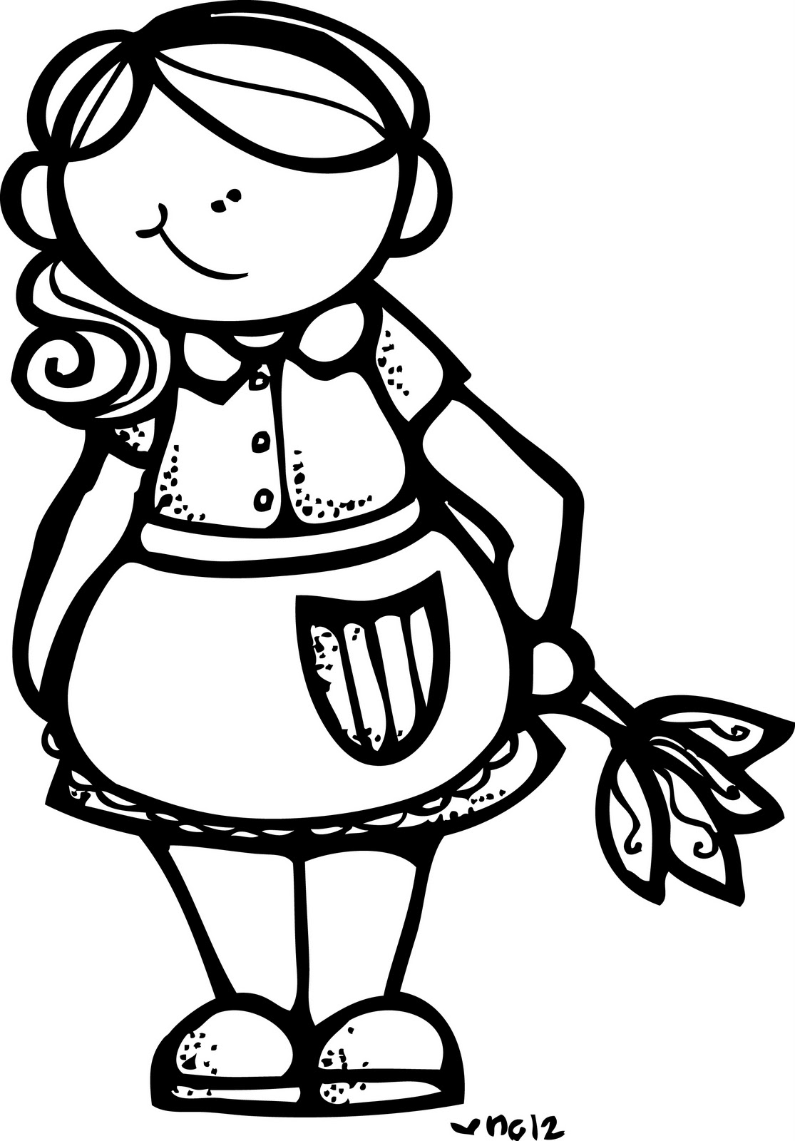 Free Black Housekeeper Cliparts Download Free Clip Art