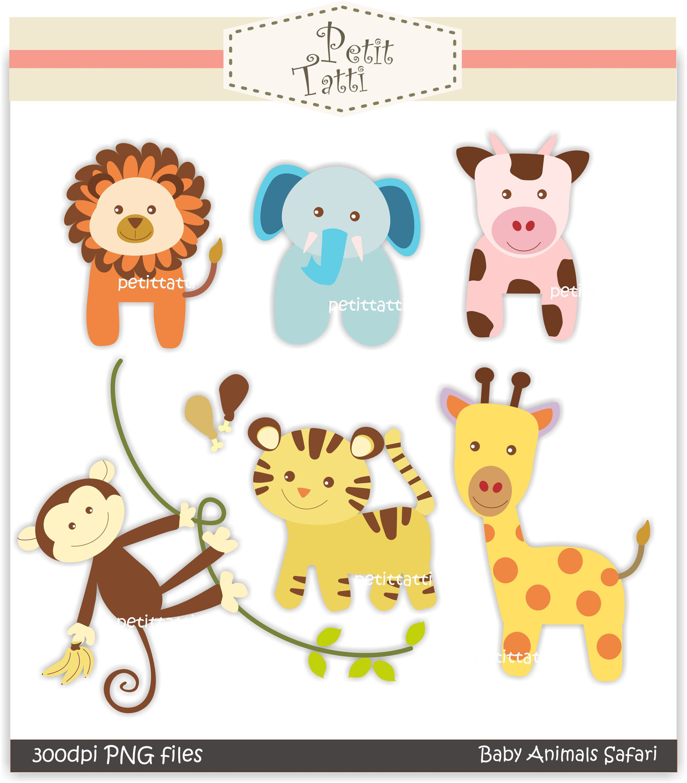 Clipart Safari Baby