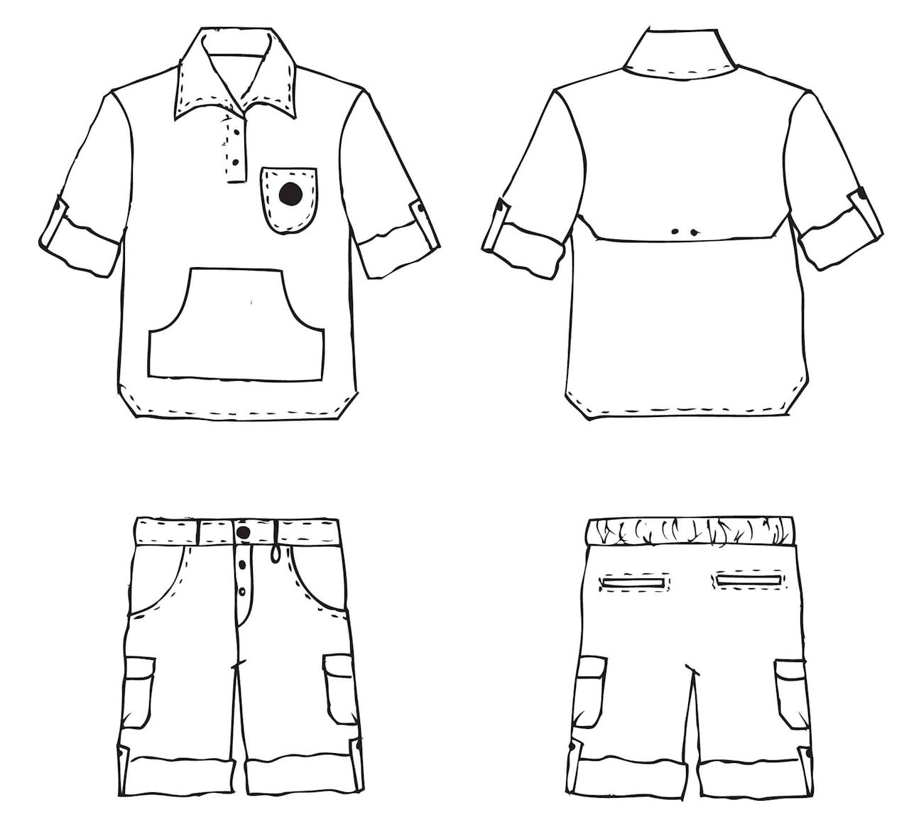 Back To School Clothes Clipart