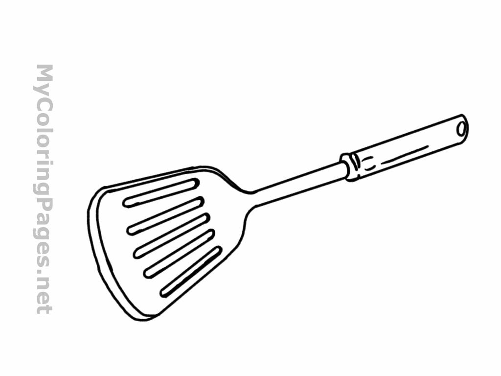 Free Spatula Cliparts Sketch Download Free Clip Art Free