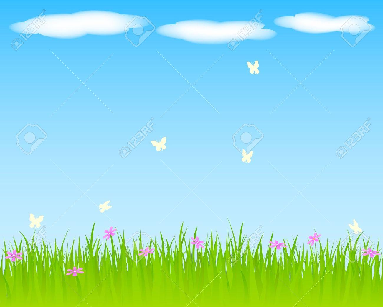 28 Blue Sky Background Clipart