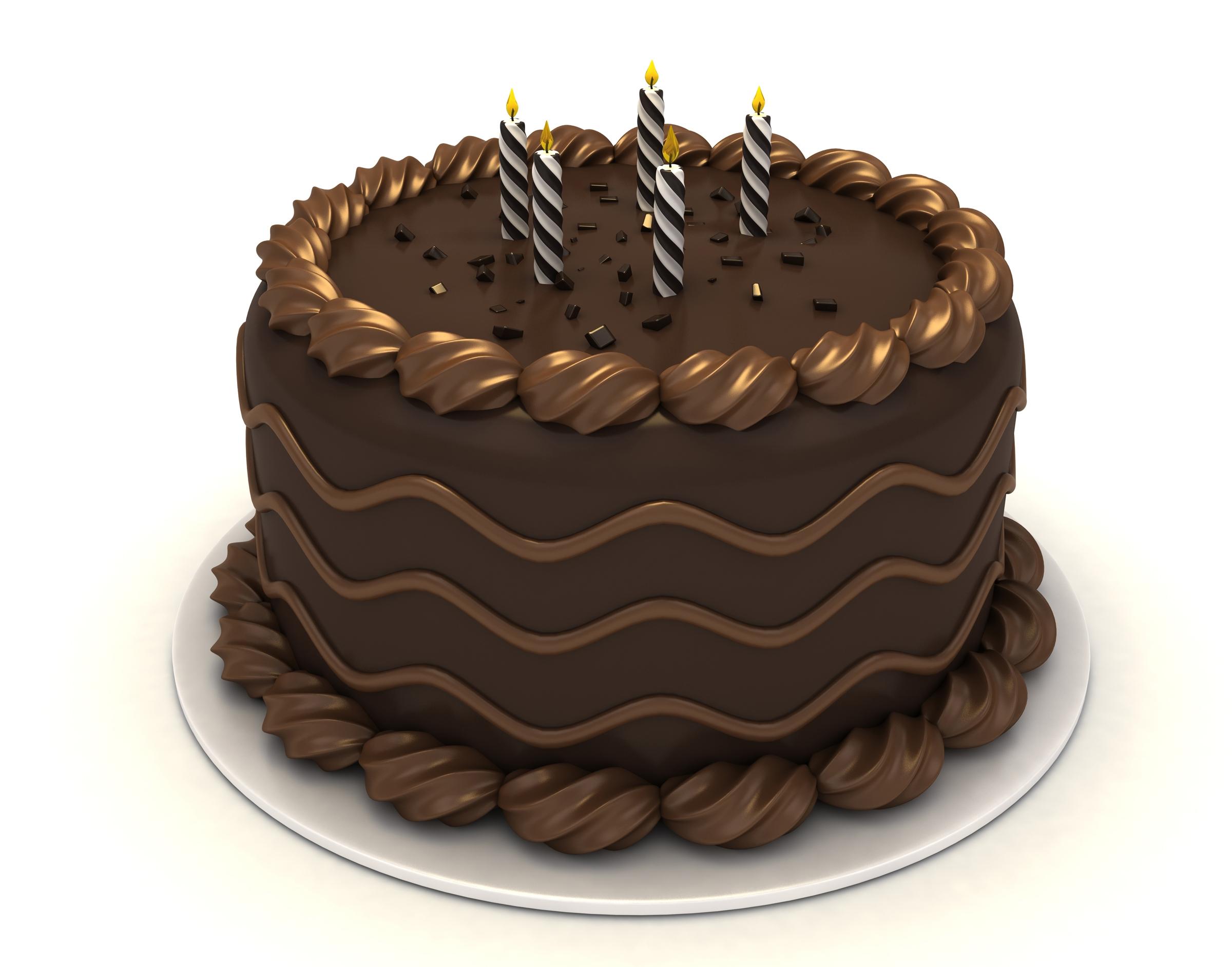 Clip Art Choc Cake Roll