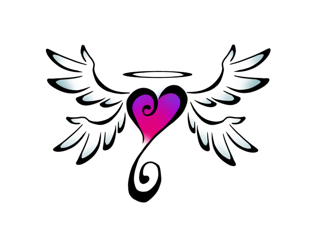 Free Wings Heart Cliparts, Download Free Clip Art, Free