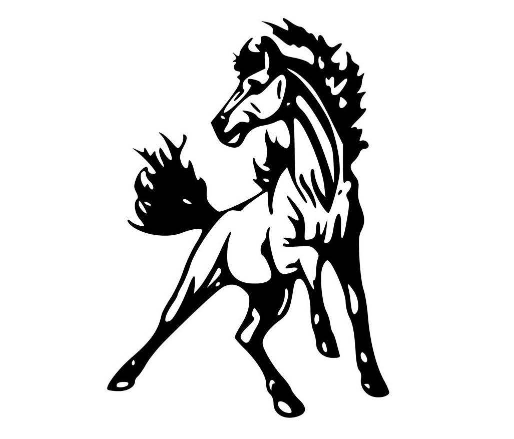 Free Mustang Horse Cliparts Download Free Clip Art Free