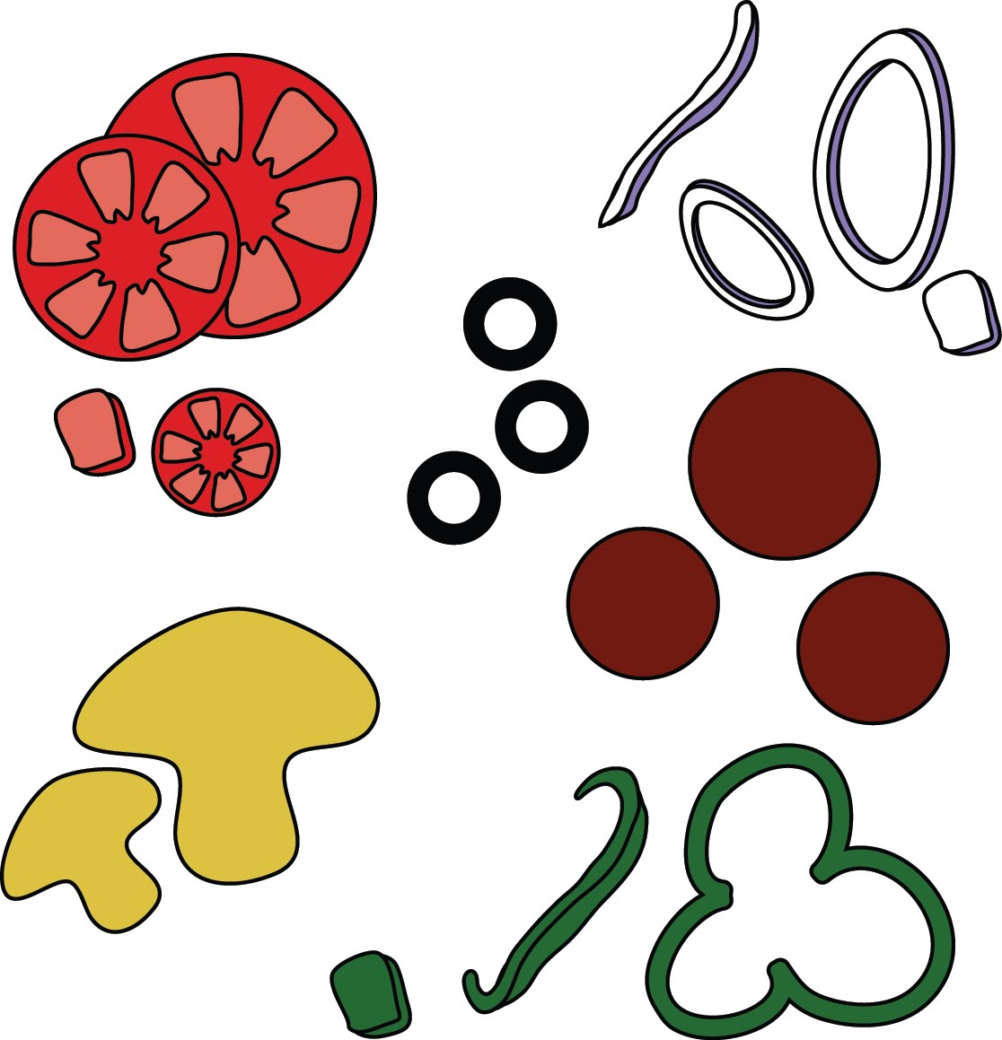 Free Pizza Topping Cliparts Download Free Clip Art Free