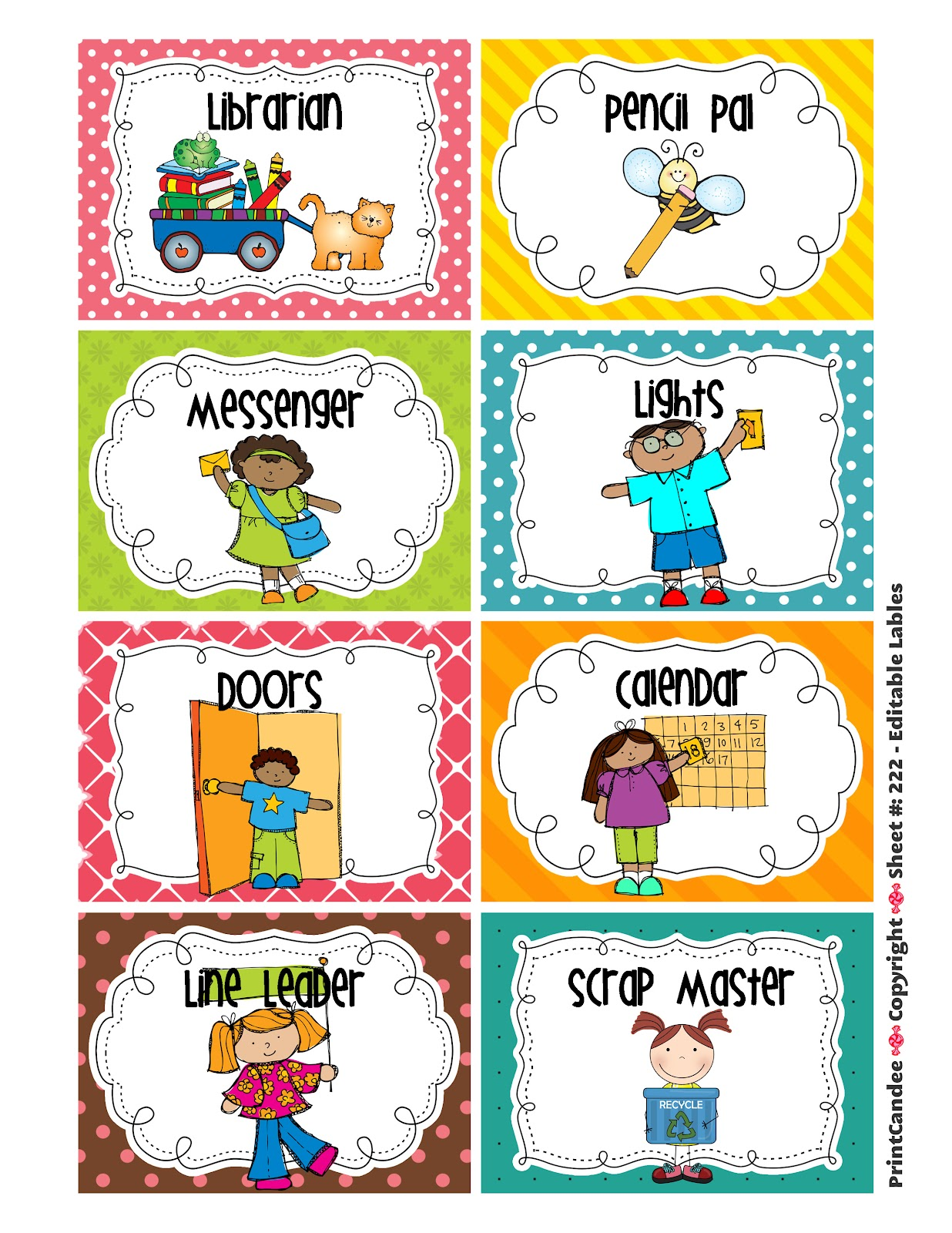 Preschool Rules Clipart