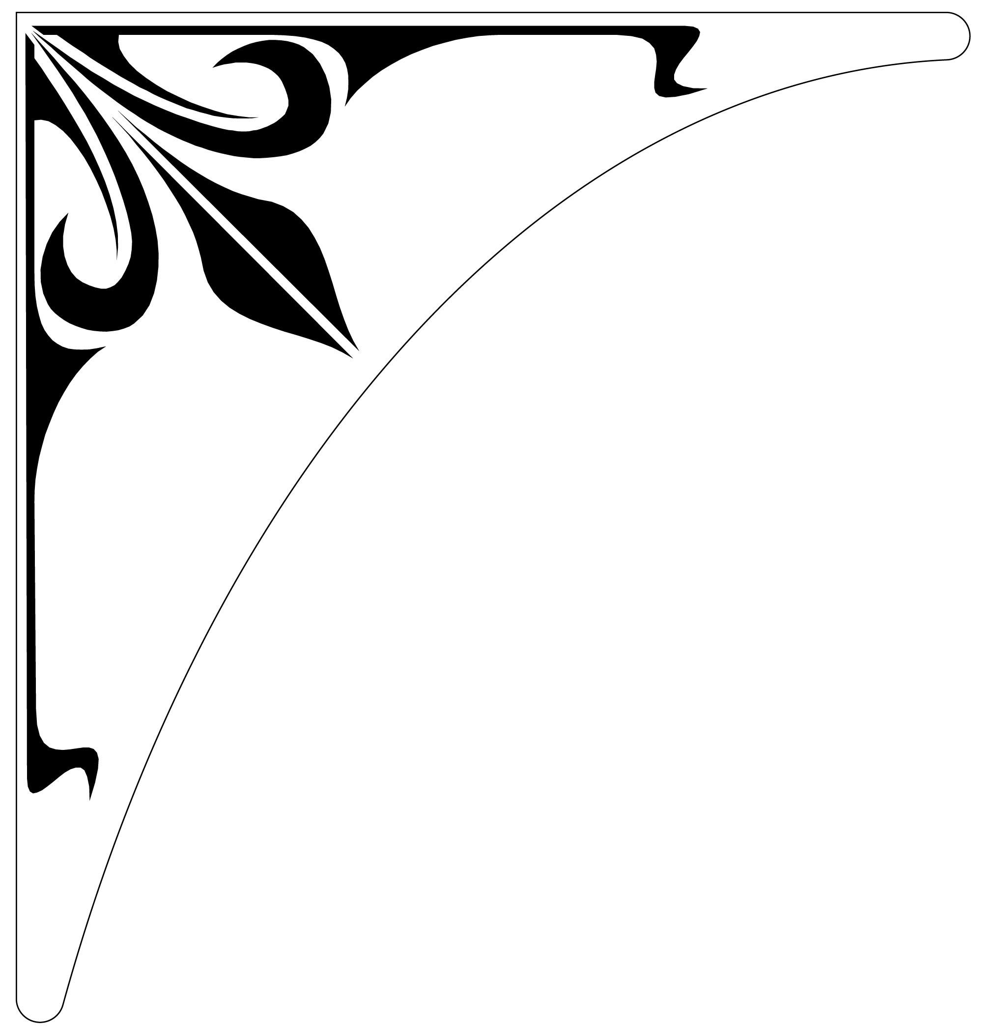 Free Corner Designs Cliparts Download Free Clip Art Free