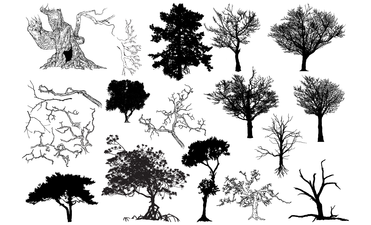 Free Tree Skyline Cliparts Download Free Clip Art Free