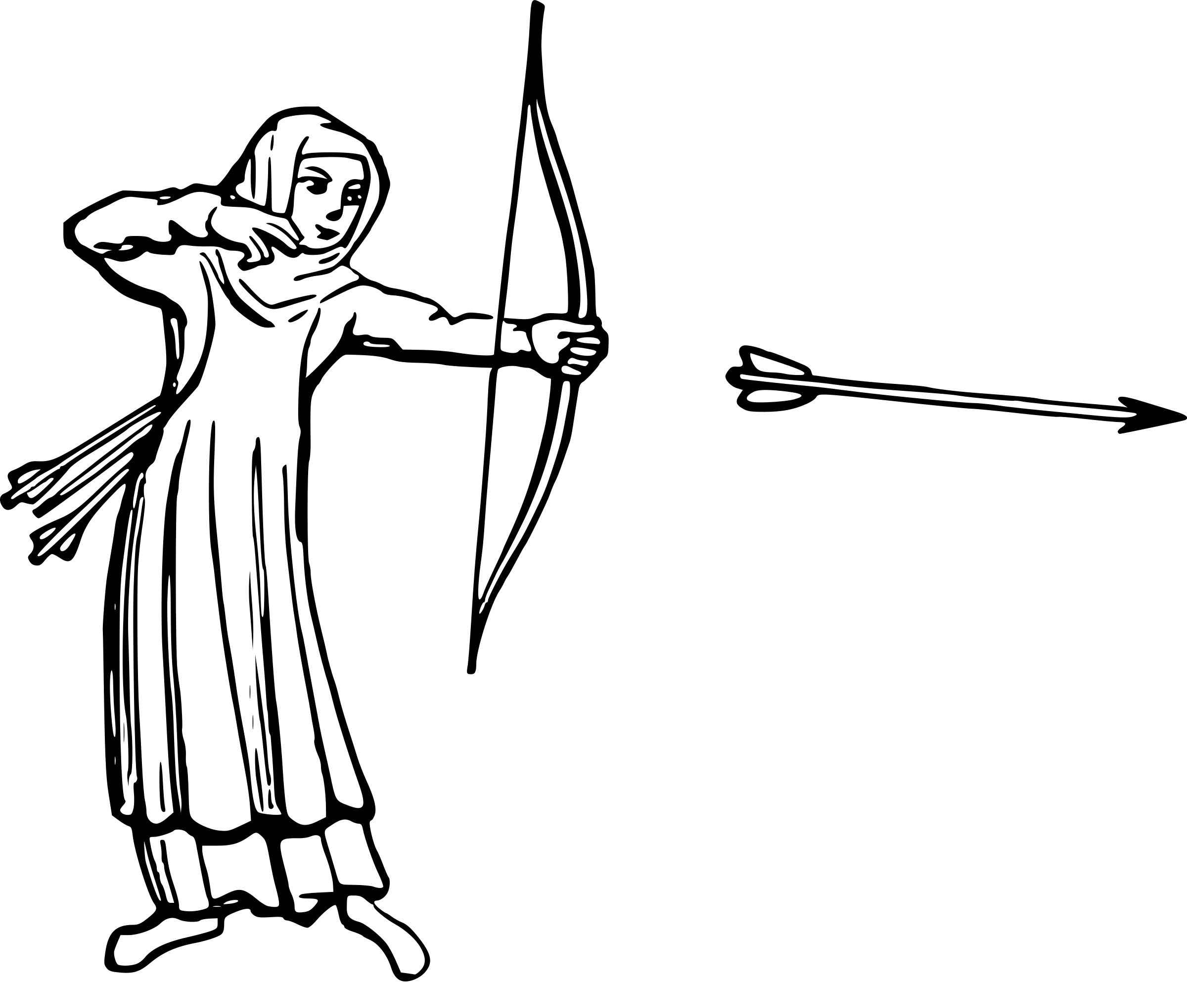 Free Female Archer Cliparts Download Free Clip Art Free