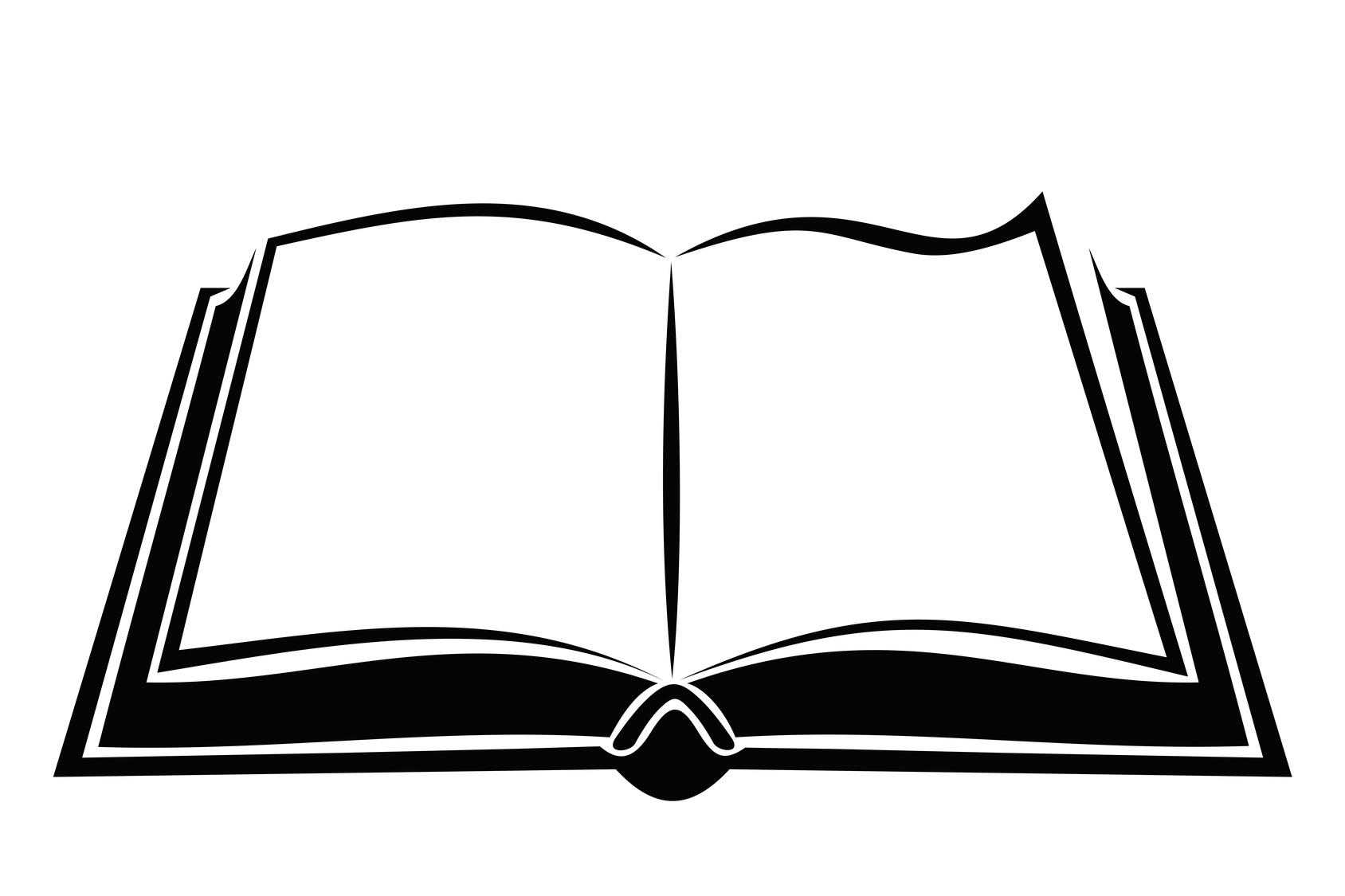Book Silhouette Clip Art