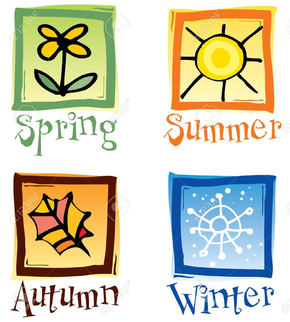 Free Four Seasons Cliparts Download Free Clip Art Free