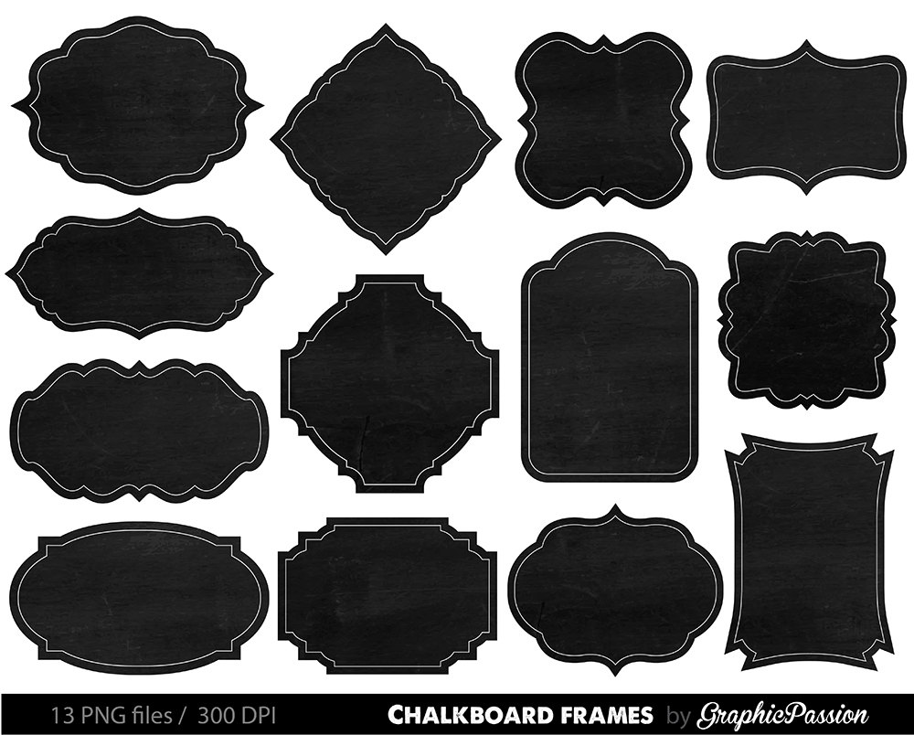 Borders White Frames Black Hat Art Clip And And