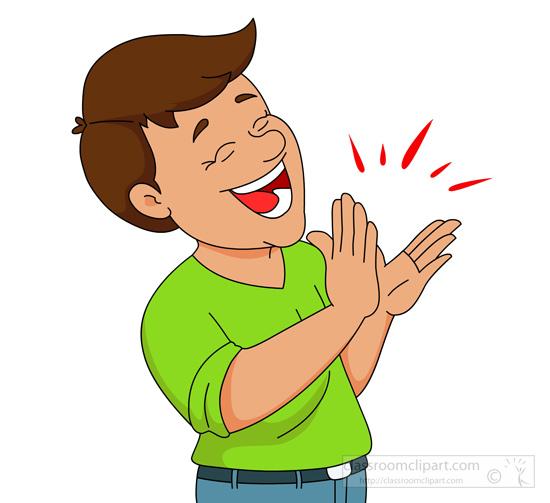 Thank You Clap Hands Cartoon