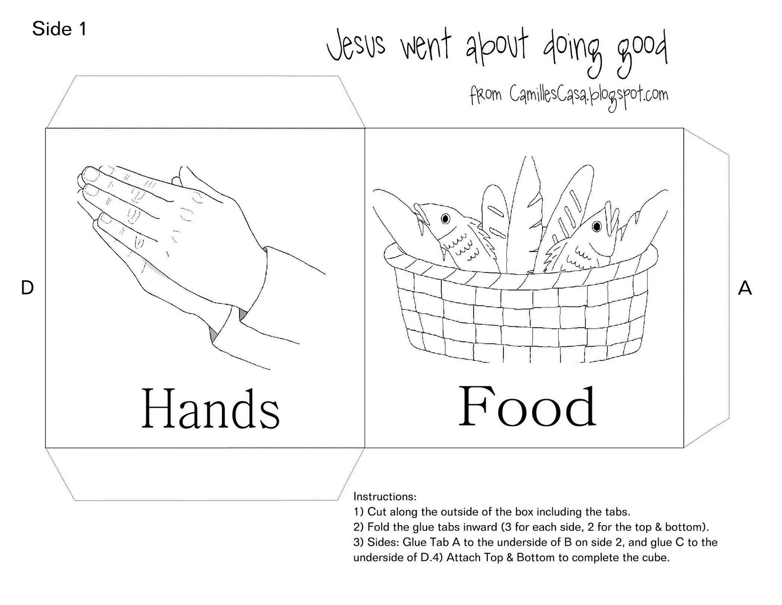 Jesus Feeds 5000 Coloring Page Az Coloring Page Coloring Page