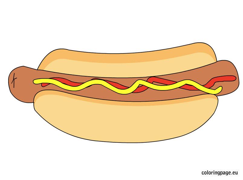 Chili Dog Clip Art Funny