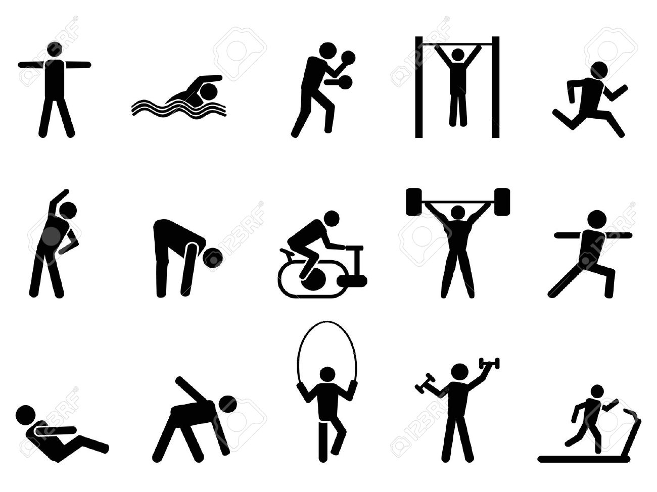 Free Physical Wellness Cliparts Download Free Clip Art