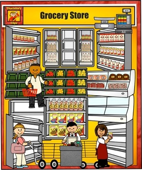 Free Grocery Market Cliparts, Download Free Clip Art, Free ... (293 x 350 Pixel)