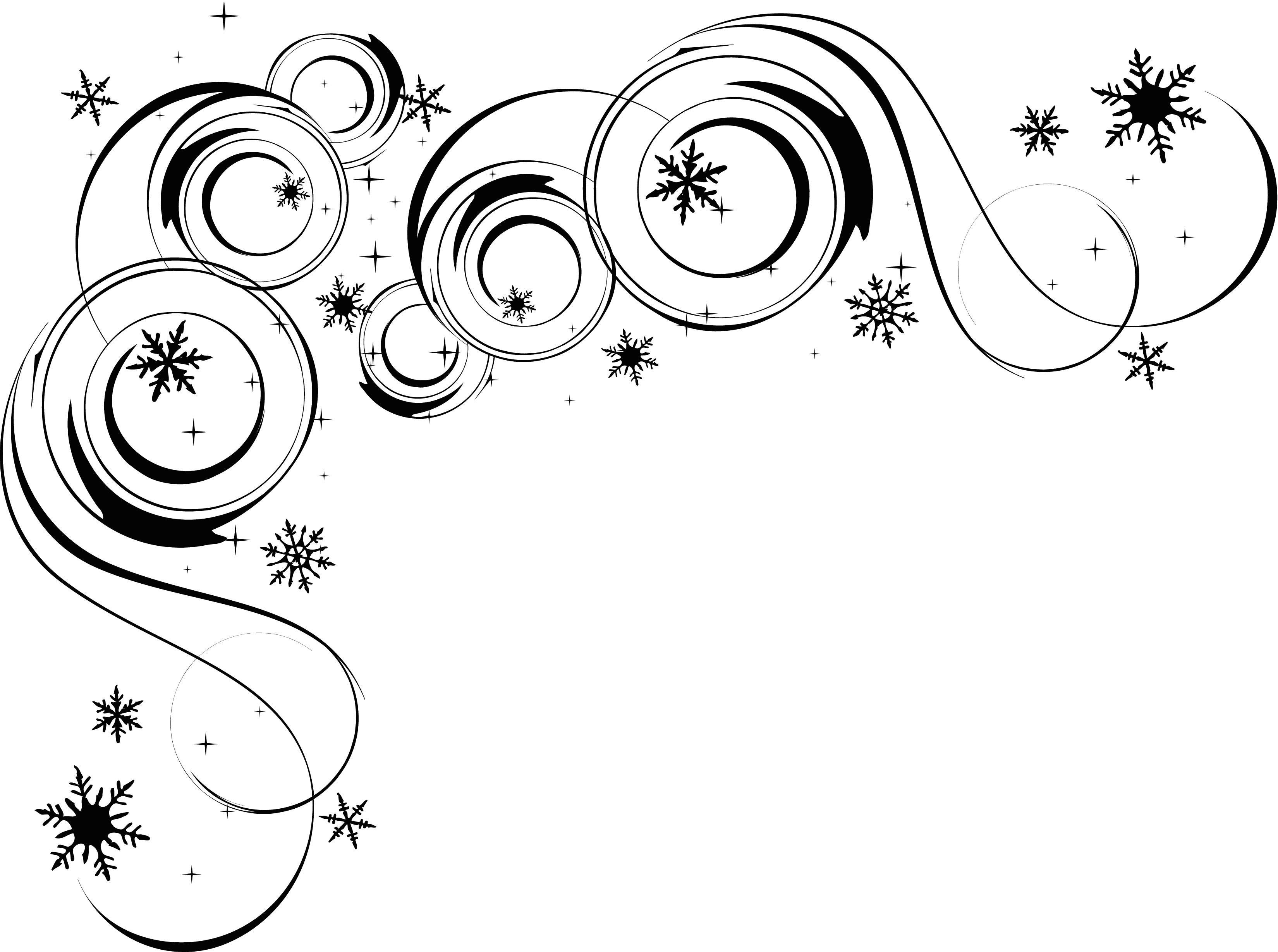 Free Snowflake Corner Cliparts Download Free Clip Art