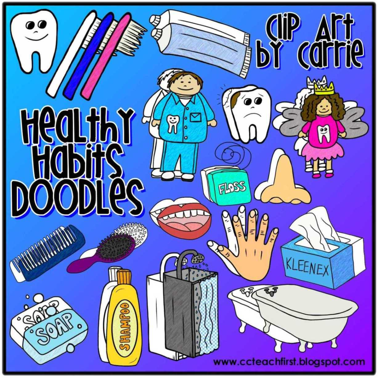 Free Healthy Habits Cliparts Download Free Clip Art Free