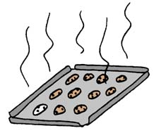Cookie Sheet Clipart