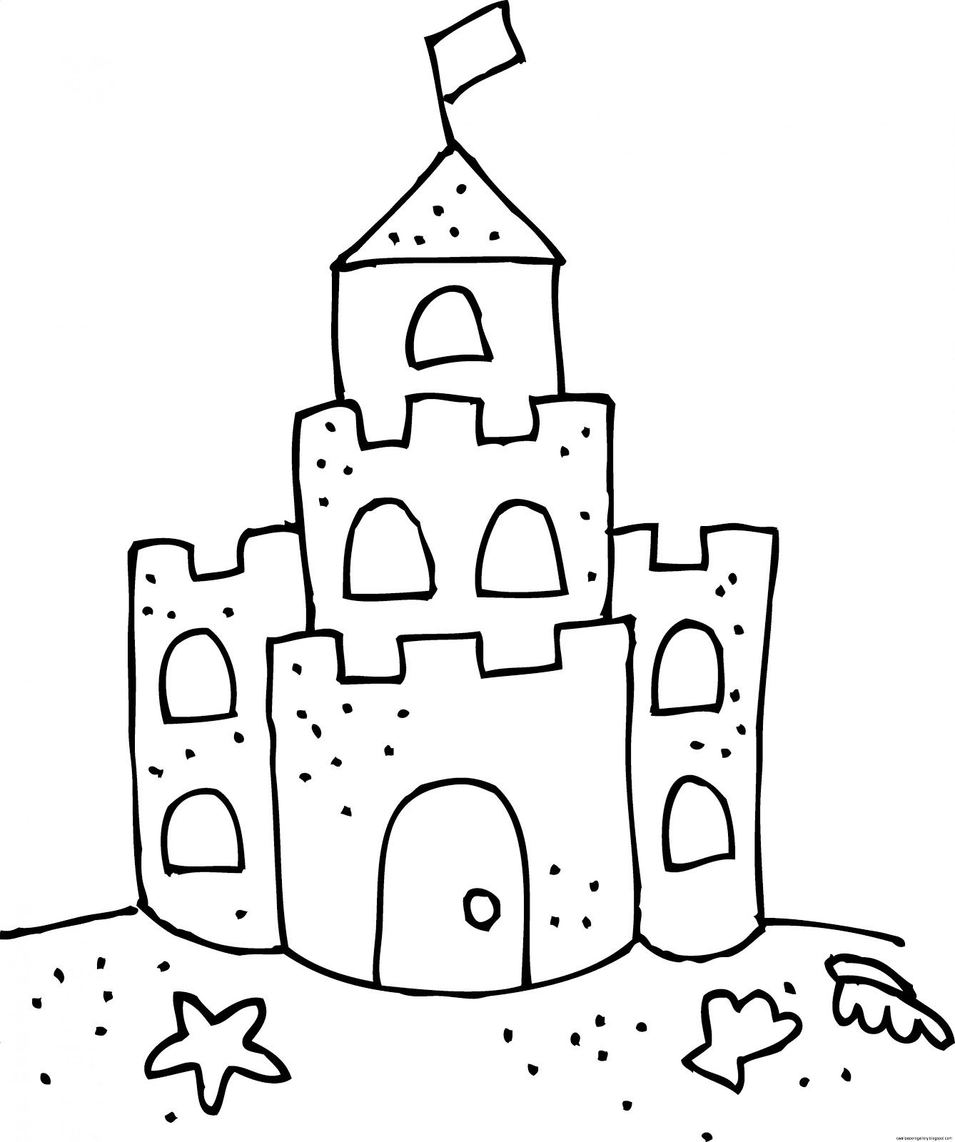 Free Sand Castle Cliparts Download Free Clip Art Free