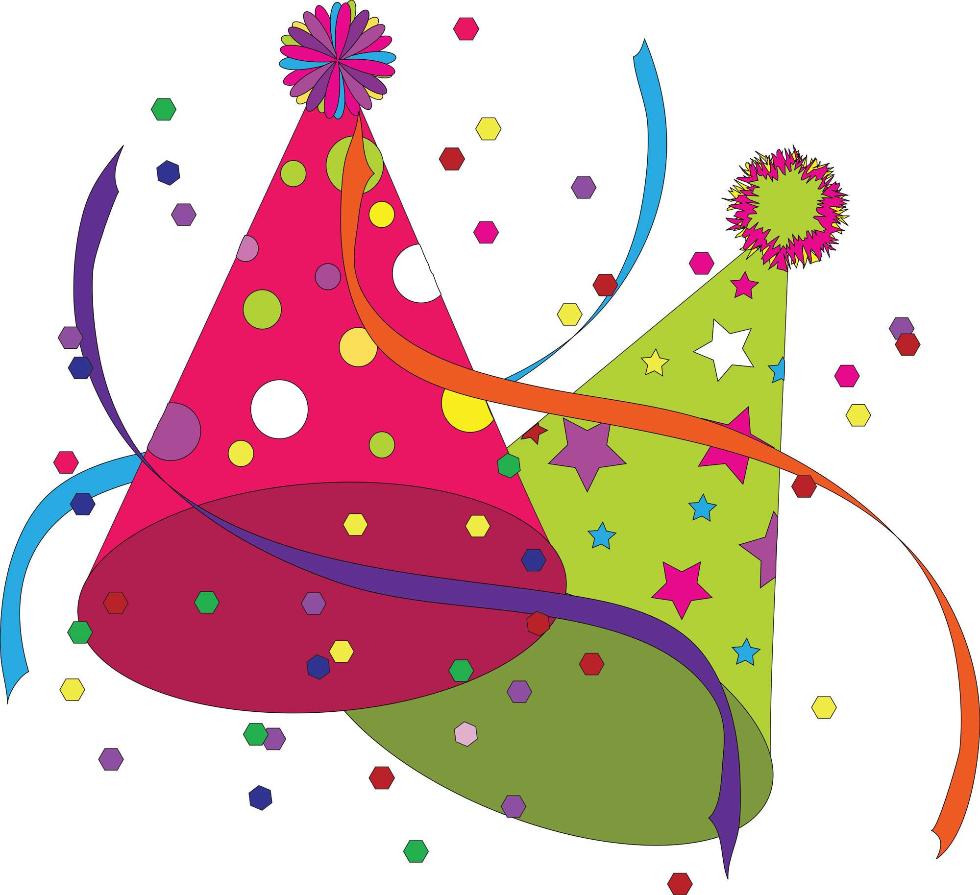 Birthday Party Clipart Images