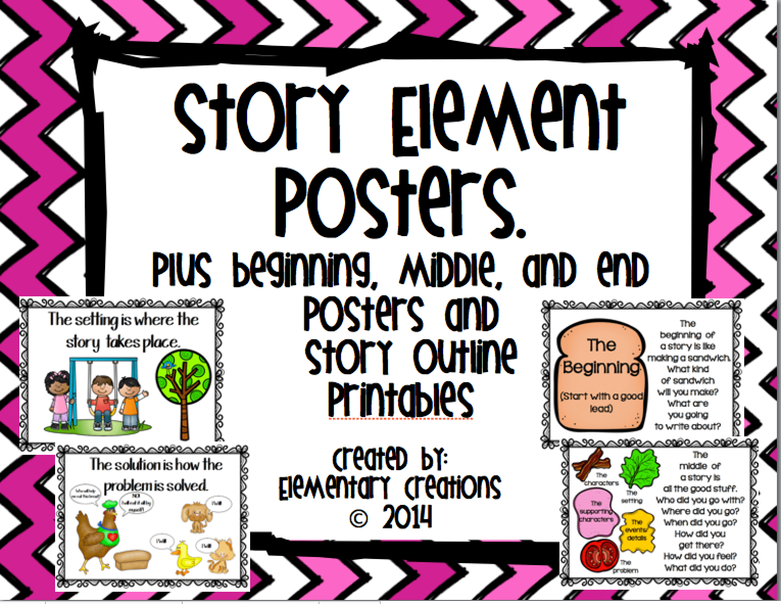 Story Elements Clipart