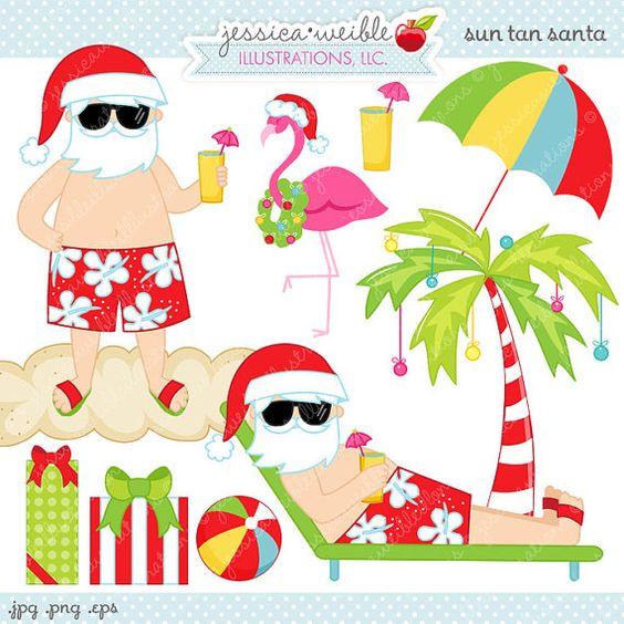 Hawaiian Christmas Tree Clipart Clip Art Library