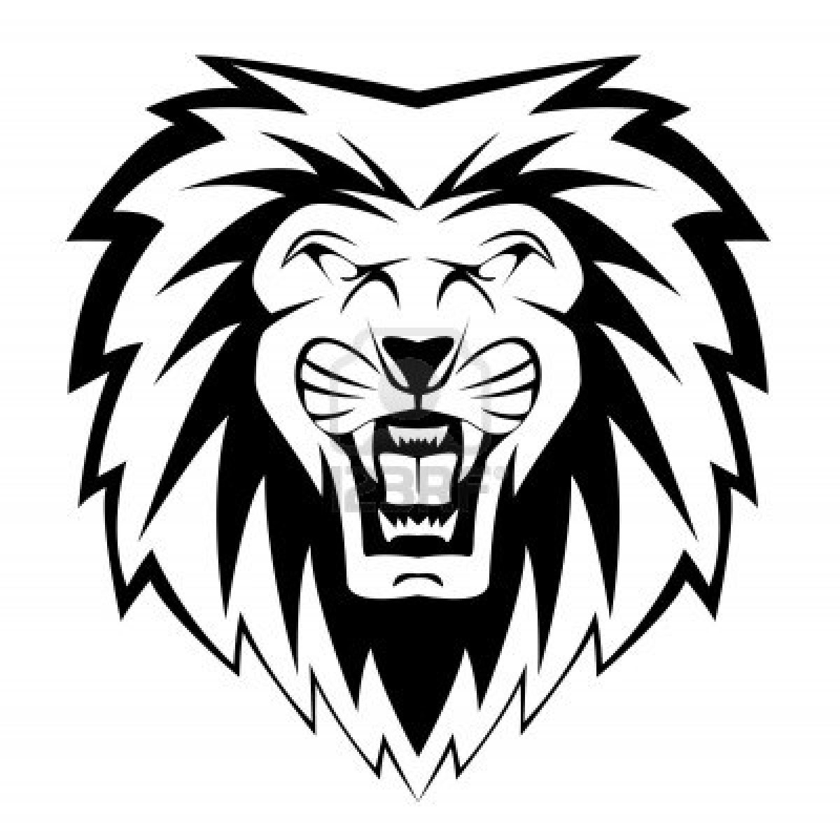 Free Lion Outline Cliparts Download Free Clip Art Free