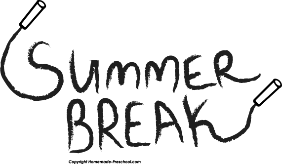 Summer Vacation Clipart Black And White Mysummerjpg Com Rh