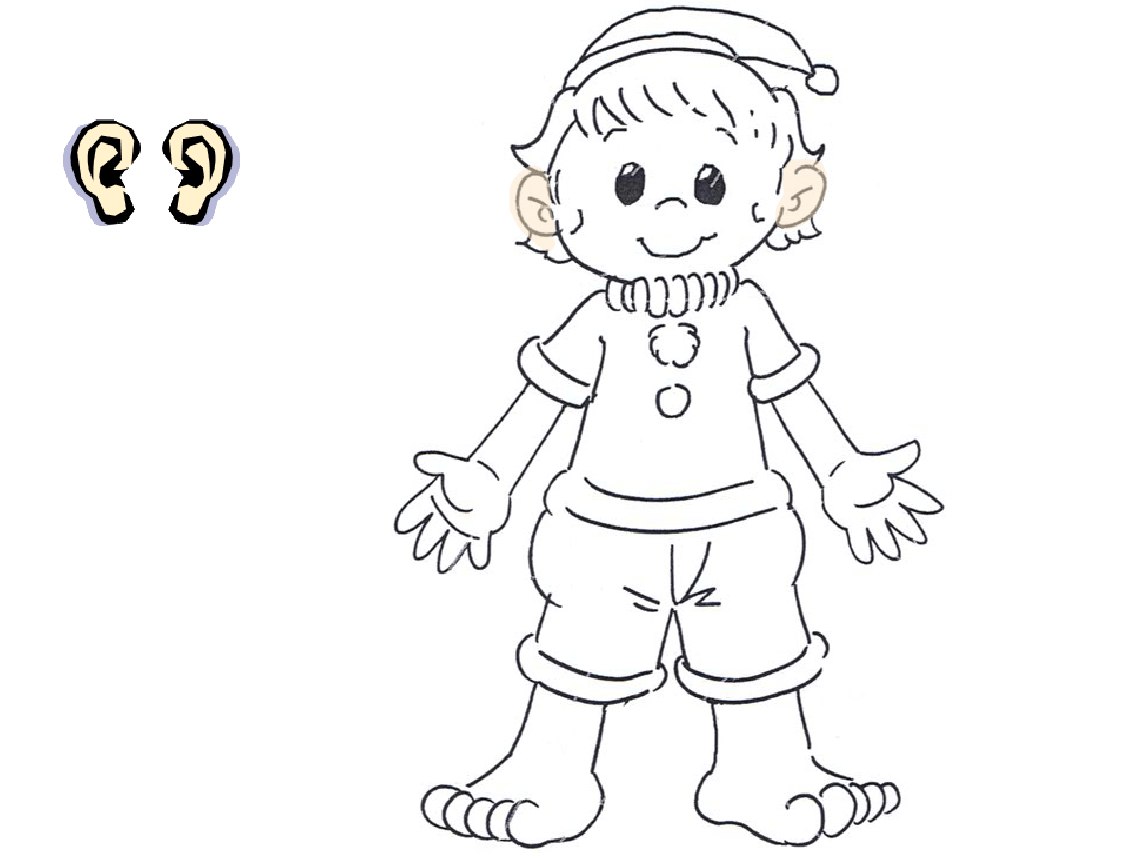 Human Body Parts Coloring Pages My Body Coloring Pages