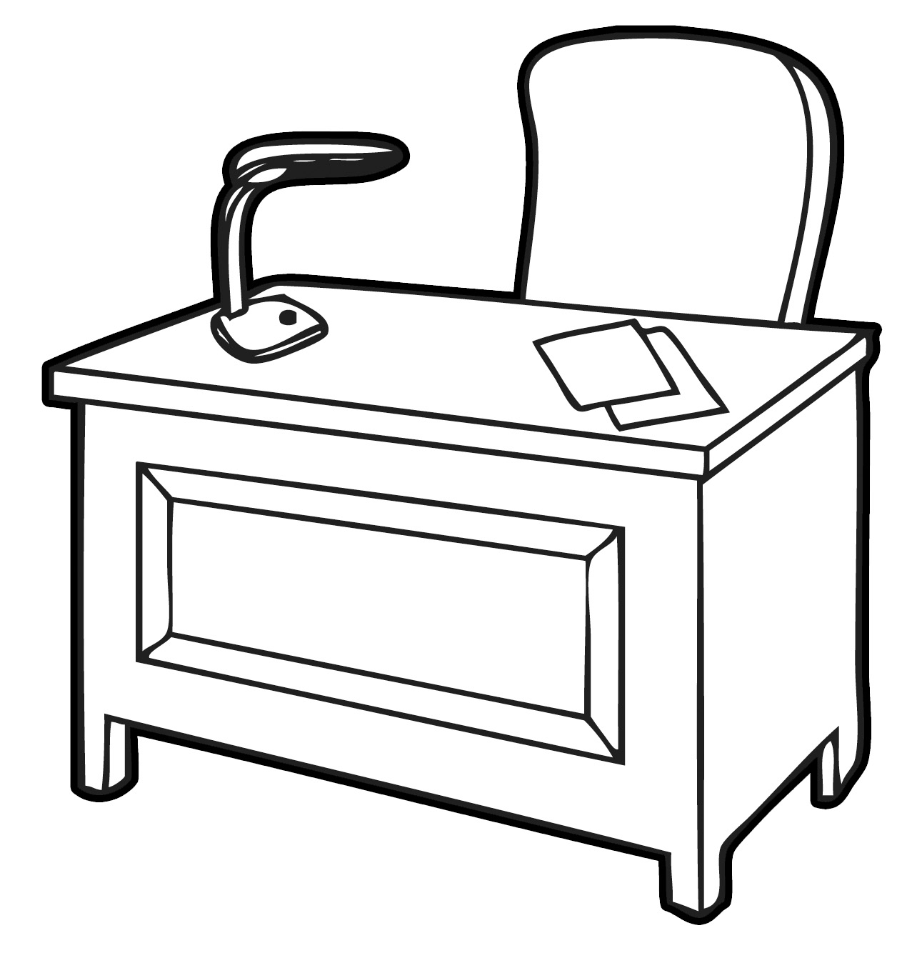 Home Office Messy Office Desk Clipart Clip Art Messy People